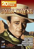 Cover image for John Wayne, 20 movie pack. Disc 1