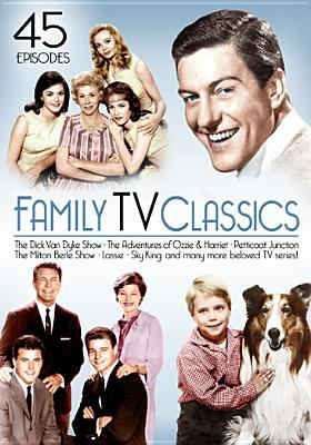 Cover image for Family TV classics [videorecording DVD] : 45 episodes.