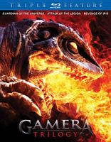 Cover image for Gamera trilogy [videorecording Blu-ray]