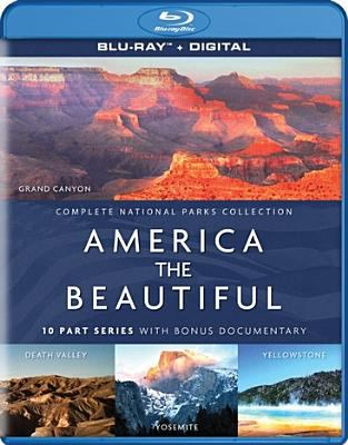 Cover image for America the beautiful [videorecording Blu-ray] : 10 part series with bonus documentary