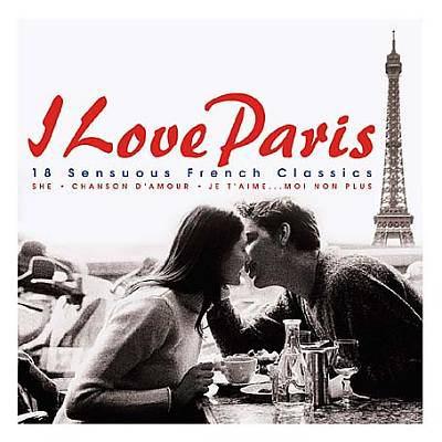 Cover image for I love Paris