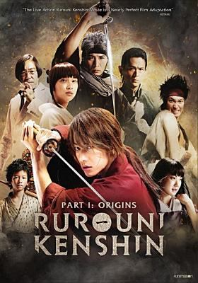Cover image for Rurouni Kenshin. part 1 [videorecording DVD] : Origins