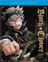 Cover image for Black clover. Season 1, part 1 [videorecording DVD] : Episodes 1-10