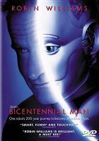 Cover image for Bicentennial man [videorecording DVD]