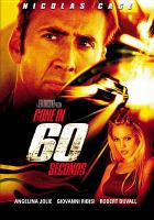 Cover image for Gone in 60 seconds