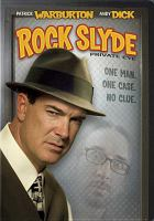 Cover image for Rock Slyde private eye.