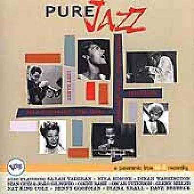 Imagen de portada para Pure jazz [sound recording CD].