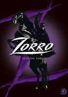 Cover image for Zorro. Season 3, Complete
