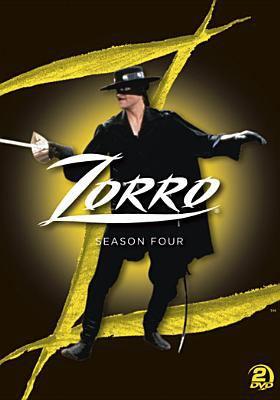 Cover image for Zorro. Season 4, Complete