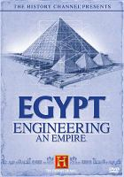 Cover image for Egypt engineering an empire