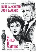 Cover image for A child is waiting [videorecording DVD]