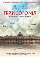 Cover image for Francofonia [videorecording DVD]
