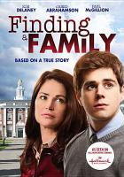 Cover image for Finding a family