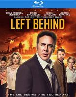 Cover image for Left behind [videorecording Blu-ray] (Nicholas Cage version)