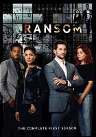 Cover image for Ransom. Season 1, Complete [videorecording DVD]