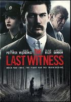 Cover image for The last witness [videorecording DVD]