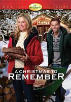 Cover image for A Christmas to remember [videorecording DVD]