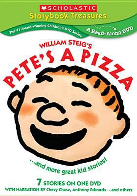Cover image for William Steig's Pete's a pizza -- and more great kid stories!