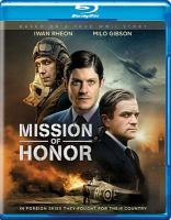 Cover image for Mission of honor [videorecording Blu-ray]