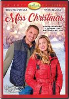 Cover image for Miss Christmas [videorecording DVD]