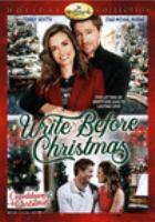 Imagen de portada para Write before Christmas [videorecording DVD]