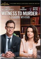 Cover image for Witness to murder [videorecording DVD] : a Darrow mystery