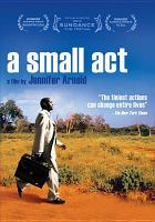 Cover image for A small act