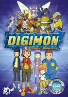 Cover image for Digimon digital monsters. Season 4, Complete [videorecording DVD]
