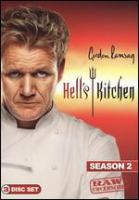 Cover image for Hell's kitchen. Season 2 [videorecording DVD] : raw & uncensored