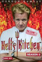 Cover image for Hell's kitchen. Season 5, Complete [videorecording DVD] : raw & uncensored
