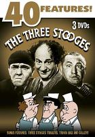 Cover image for The Three Stooges 40 features!
