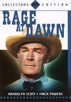 Cover image for Rage at dawn