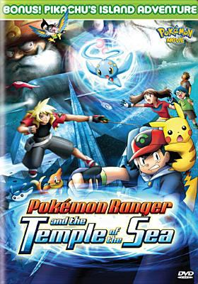 Cover image for PokÔemon Ranger and the temple of the sea Pikachu's island adventure