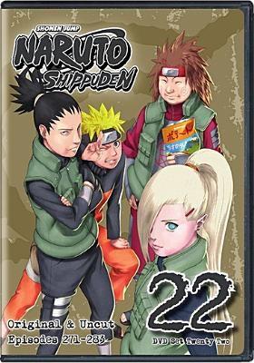 Cover image for Naruto shippÕuden. Set 22 [videorecording DVD] : original and uncut, episodes 271-283