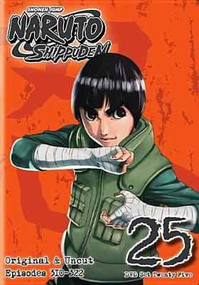 Cover image for Naruto shippūden. Set 25 [videorecording DVD] : original and uncut, episodes 310-322
