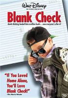 Cover image for Blank check