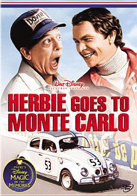 Cover image for Herbie goes to Monte Carlo [videorecording DVD]