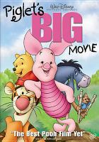 Cover image for Piglet's big movie