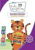 Cover image for Baby Einstein. Numbers nursery