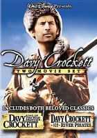 Cover image for Davy Crockett two movie set
