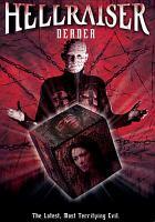 Cover image for Hellraiser. Deader