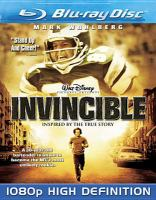 Cover image for Invincible [videorecording Blu-ray] (Mark Wahlberg version)