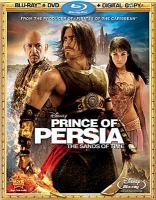 Cover image for Prince of Persia, the sands of time [videorecording Blu-ray]