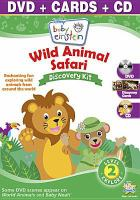 Imagen de portada para Baby Einstein. Wild animal safari discovery kit