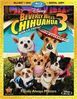 Cover image for Beverly Hills Chihuahua 3 [videorecording Blu-ray] : viva la fiesta!