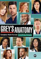 Cover image for Grey's anatomy. Season 09, Complete