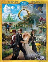 Cover image for Oz the great and powerful [videorecording Blu-ray]