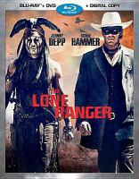 Cover image for The Lone Ranger [videorecording Blu-ray] : (Johnny Depp version)