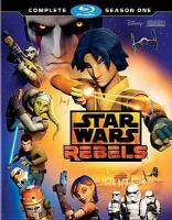 Cover image for Star Wars rebels. Season 1, Complete [videorecording Blu-ray].