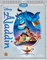 Cover image for Aladdin [videorecording Blu-ray] (Robin Williams version).